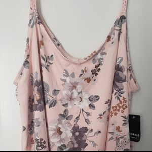 NWT Torrid Floral Swing Cami